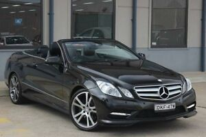 2012 Mercedes-Benz E250 E207 MY12 Avantgarde B.E Black 7 Speed Automatic Cabriolet Blacktown Blacktown Area Preview