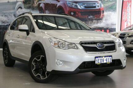 2014 Subaru XV MY14 2.0I White Continuous Variable Wagon