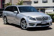 2014 Mercedes-Benz C250 W204 MY14 Elegance Estate 7G-Tronic + Silver 7 Speed Sports Automatic Wagon Nedlands Nedlands Area Preview