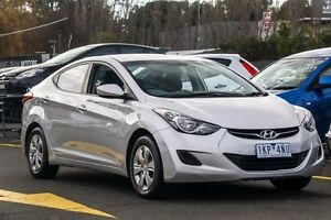 2012 Hyundai Elantra MD Active Silver 6 Speed Sports Automatic Sedan Ringwood East Maroondah Area Preview