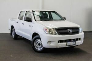 2008 Toyota Hilux TGN16R MY08 Workmate 4x2 Glacier White 5 Speed Manual Utility Myaree Melville Area Preview