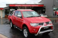 2009 Mitsubishi Triton MN MY10 GLX-R (4x4) Red 5 Speed Automatic 4x4 Dual Cab Utility South Maitland Maitland Area Preview