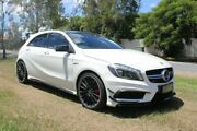 2014 Mercedes-Benz A45 W176 AMG SPEEDSHIFT DCT 4MATIC White 7 Speed Sports Automatic Dual Clutch Ormeau Gold Coast North Preview