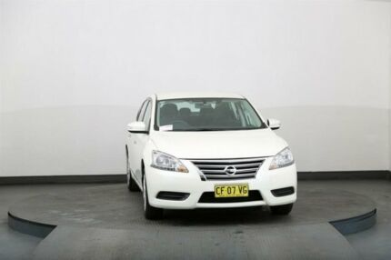 2015 Nissan Pulsar B17 ST White Continuous Variable Sedan