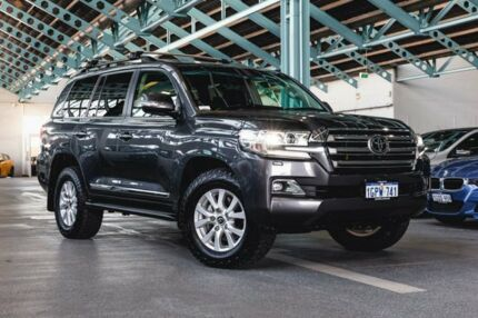 2016 Toyota Landcruiser VDJ200R Sahara Grey 6 Speed Sports Automatic Wagon Welshpool Canning Area Preview