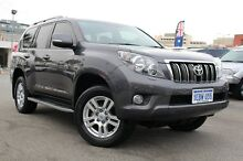 2012 Toyota Landcruiser Prado KDJ150R VX Graphite 5 Speed Sports Automatic Wagon Northbridge Perth City Preview