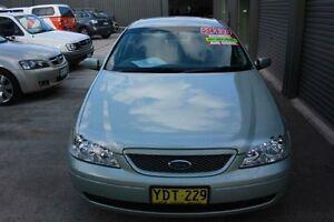 2002 Ford Falcon BA Futura Mist Green 4 Speed Auto Seq Sportshift Sedan Mitchell Gungahlin Area Preview