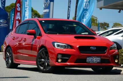 2015 Subaru WRX V1 MY16 Premium Lineartronic AWD Pure Red 8 Speed Constant Variable Sedan Willagee Melville Area Preview