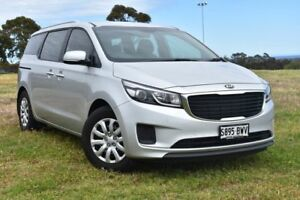 2018 Kia Carnival YP MY18 S Silver 6 Speed Sports Automatic Wagon St Marys Mitcham Area Preview