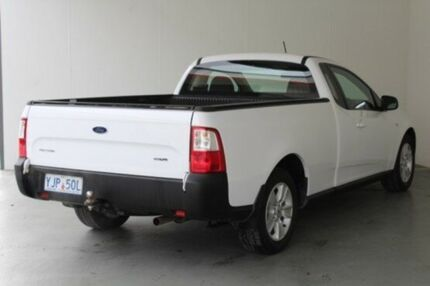 2011 Ford Falcon FG (LPG) White 4 Speed Auto Seq Sportshift Utility