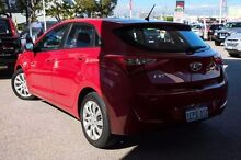 2014 Hyundai i30 GD2 Active Red 6 Speed Sports Automatic Hatchback Osborne Park Stirling Area Preview