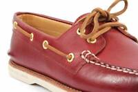 Chaussure Sperry Top-sider Gold Cup. Couleur Rouge. Size 10