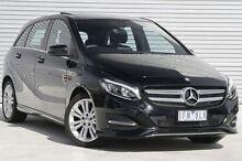 2015 Mercedes-Benz B180  Black Sports Automatic Dual Clutch Hatchback Ringwood East Maroondah Area Preview