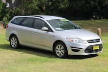 2013 Ford Mondeo MC LX Silver 6 Speed Automatic Hatchback Port Macquarie 2444 Port Macquarie City Preview