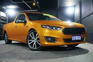 2014 Ford Falcon FG X XR6 Ute Super Cab Turbo Gold 6 Speed Manual Utility Wangara Wanneroo Area Preview