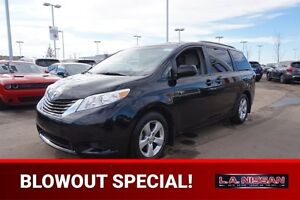 2016 Toyota Sienna LE 8 PASSENGER Heated Seats,  Back-up Cam,  B