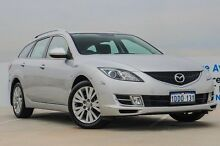 2008 Mazda 6 GH1051 Classic Silver 5 Speed Sports Automatic Wagon Osborne Park Stirling Area Preview