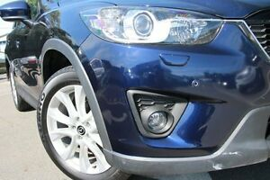 2012 Mazda CX-5 Grand Tourer (4x4) Blue 6 Speed Automatic Wagon Dee Why Manly Area Preview