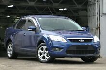 2011 Ford Focus LV MY11 LX Blue 4 Speed Automatic Sedan Mosman Mosman Area Preview