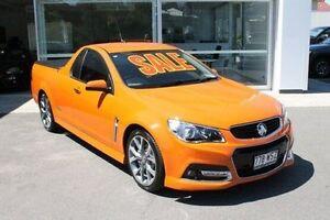 2013 Holden Ute VF MY14 SS V Ute Orange 6 Speed Manual Utility Mount Gravatt Brisbane South East Preview