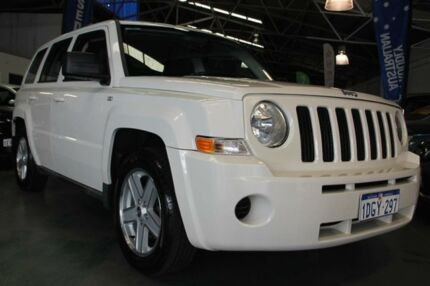 2010 Jeep Patriot MK MY09 Sport White 5 Speed Manual Wagon Victoria Park Victoria Park Area Preview