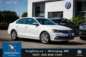 2015 Volkswagen Jetta Sedan Highline TDI w/ DSG/Backup Cam/Leath