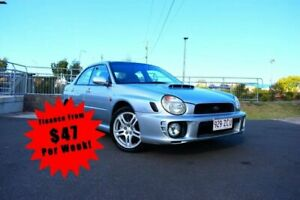 2002 Subaru WRX S WRX Sedan 4dr Man 5sp AWD 2.0T Silver Manual Sedan South Toowoomba Toowoomba City Preview