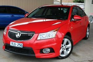 2011 Holden Cruze JH Series II MY11 SRi-V Red 6 Speed Sports Automatic Sedan Cheltenham Kingston Area Preview