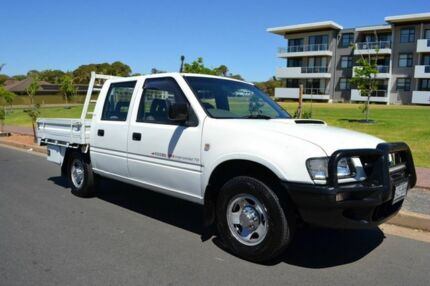 2001 Holden Rodeo TF MY02 LX Crew Cab 4x2 White 5 Speed Manual Utility Somerton Park Holdfast Bay Preview