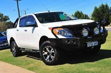 2014 Mazda BT-50 UP0YF1 XTR White 6 Speed Manual Utility Wangara Wanneroo Area Preview