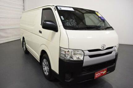 2014 Toyota Hiace TRH201R MY14 LWB White Solid 4 Speed Automatic Van
