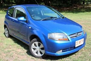 2007 Holden Barina TK MY07 Blue 5 Speed Automatic Hatchback The Gardens Darwin City Preview