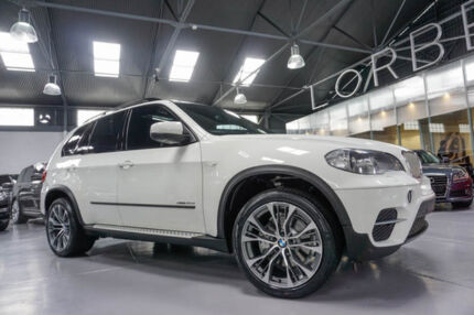 2011 BMW X5 E70 MY10 xDrive 40D Sport White 8 Speed Automatic Sequential Wagon
