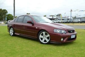2008 Ford Falcon BF MkII 07 Upgrade XR8 Red 6 Speed Manual Sedan Maddington Gosnells Area Preview