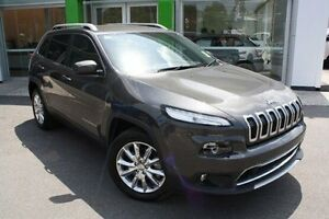 2015 Jeep Cherokee KL MY15 Limited Grey 9 Speed Sports Automatic Wagon Mount Gravatt Brisbane South East Preview
