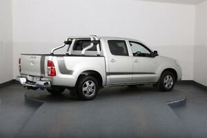 2012 Toyota Hilux GGN15R MY12 SR Silver 5 Speed Automatic Dual Cab Pick-up Smithfield Parramatta Area Preview