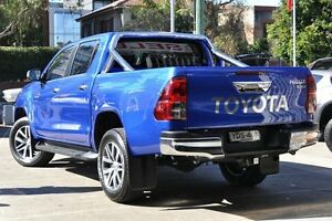 2016 Toyota Hilux GUN126R SR5 Double Cab Blue 6 Speed Sports Automatic Utility Mosman Mosman Area Preview