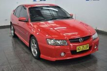 2005 Holden Commodore VZ SV6 Red 5 Speed Sports Automatic Sedan Blair Athol Campbelltown Area Preview