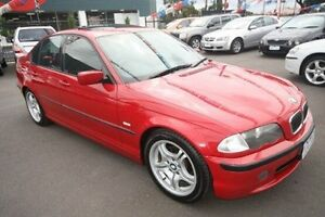2001 BMW 320i E46 MY2002 Steptronic Red 5 Speed Sports Automatic Sedan Kingsville Maribyrnong Area Preview