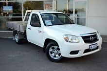 2010 Mazda BT-50 DX White 5 Speed Manual Cab Chassis Midland Swan Area Preview