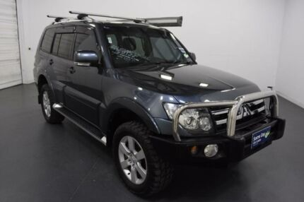 2008 Mitsubishi Pajero NS VR-X LWB (4x4) Grey 5 Speed Auto Sports Mode Wagon