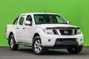2014 Nissan Navara D40 S5 MY12 ST-X 550 White 7 Speed Sports Automatic Utility Ringwood East Maroondah Area Preview
