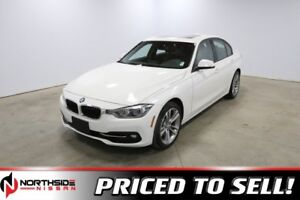 2018 BMW 3 Series 330I XDRIVE Accident Free,  Navigation,  Leath
