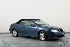 2006 Saab 9-3 442 MY2006 Linear Blue 5 Speed Sports Automatic Convertible Old Guildford Fairfield Area Preview