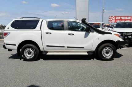 2012 Mazda BT-50 XT (4x4) White 6 Speed Automatic Dual Cab Utility Wangara Wanneroo Area Preview
