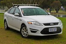 2012 Ford Mondeo MC LX PwrShift TDCi White 6 Speed Sports Automatic Dual Clutch Hatchback East Rockingham Rockingham Area Preview