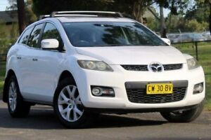 2008 Mazda CX-7 ER1031 MY07 Luxury White 6 Speed Sports Automatic Wagon Lansvale Liverpool Area Preview