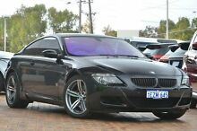2005 BMW M6 E63 Black 7 Speed Seq Manual Auto-Clutch Coupe Osborne Park Stirling Area Preview