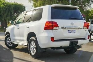 2014 Toyota Landcruiser VDJ200R MY13 GXL Glacier White 6 Speed Sports Automatic Wagon Glendalough Stirling Area Preview