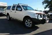 2011 Nissan Navara D40 MY11 ST-X White 5 Speed Automatic Utility Tingalpa Brisbane South East Preview
